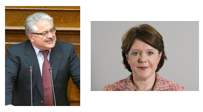 Greek and UK Culture Ministers